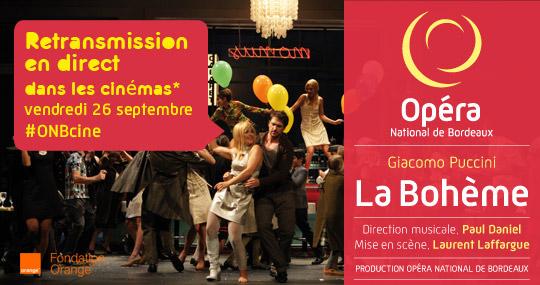 1ère : l'Opéra de Bordeaux, ce soir au cinéma !