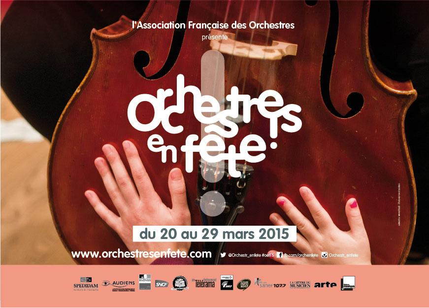 Le site d'Orchestres en fête est ouvert !