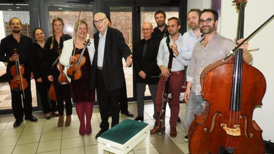 Un concert surprise pour une fidélité sans faille à l'orchestre