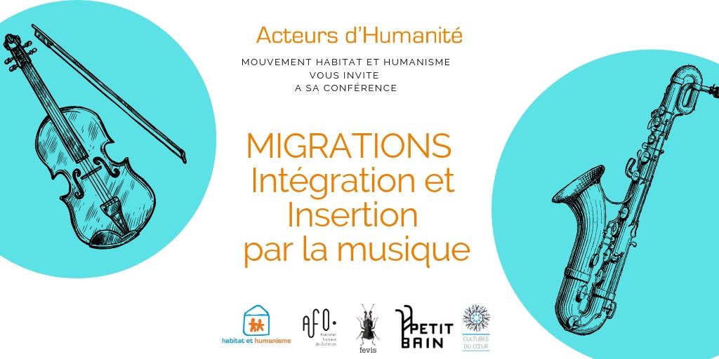 Migrations : intégration et insertion par la musique