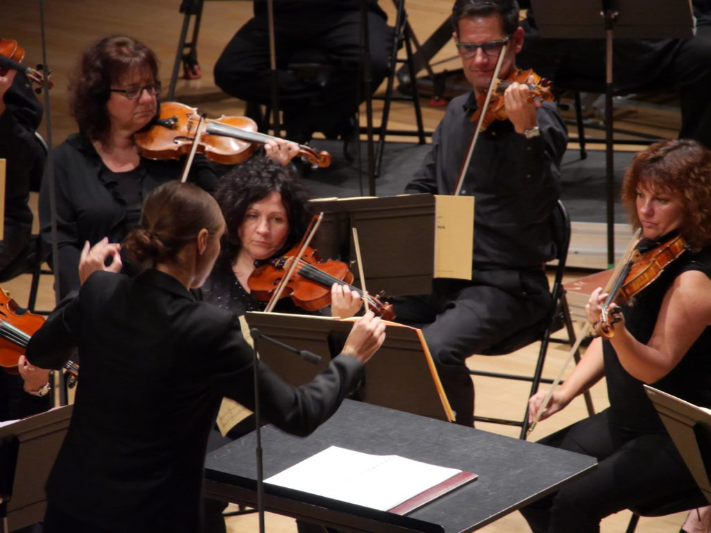 Lucie Leguay, cheffe assistante de trois orchestres