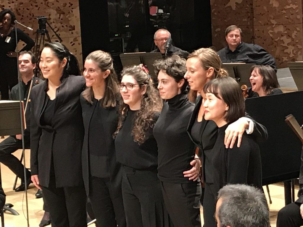 Les suites du tremplin de jeunes cheffes d'orchestre