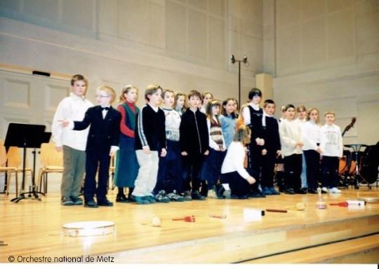 Retrouver l'orchestre 20 ans après sa classe de CM2