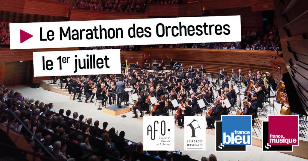 Le marathon des orchestres sur Radiofrance