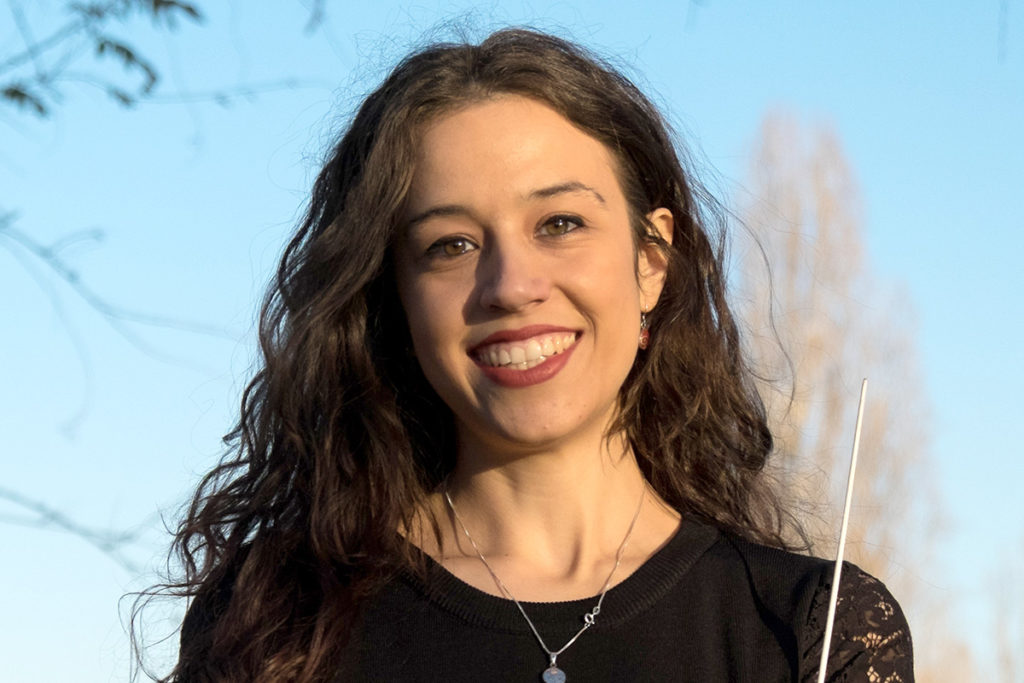 [Portrait de cheffe d'orchestre] Sara Caneva