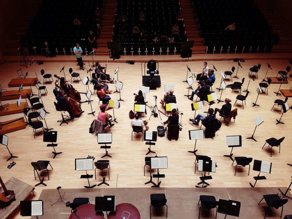 Retour sur la masterclasse de direction d'orchestre de l'Orchestre national de Metz